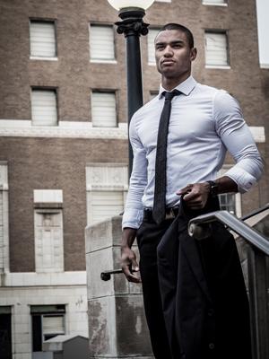 Office Wear Anzug mit Krawatte