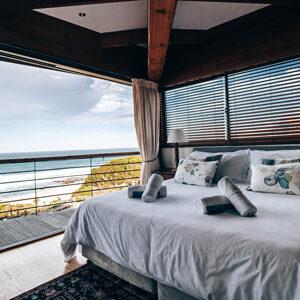 Hotelzimmer mit Meeresblick