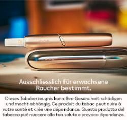 IQOS: Gratis testen und CHF 30.– günstiger kaufen!