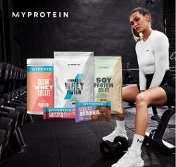 MyProtein: 45% Rabatt auf ausgewählte Produkte